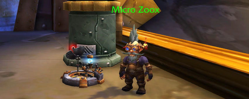 Micro Zoox - Gnomeregan Pet Battle Dungeon