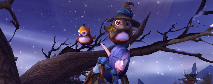Pepe in tree (Horde garrison) Pepe Costumes & Toy Guide