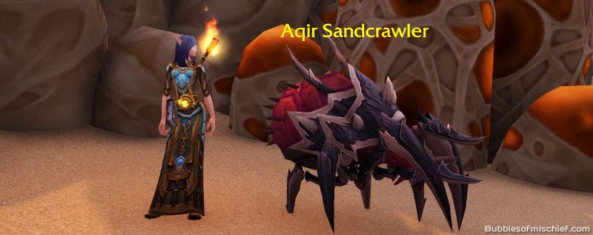 Aqir Sandcrawler - Shadowbarb Drone Guide