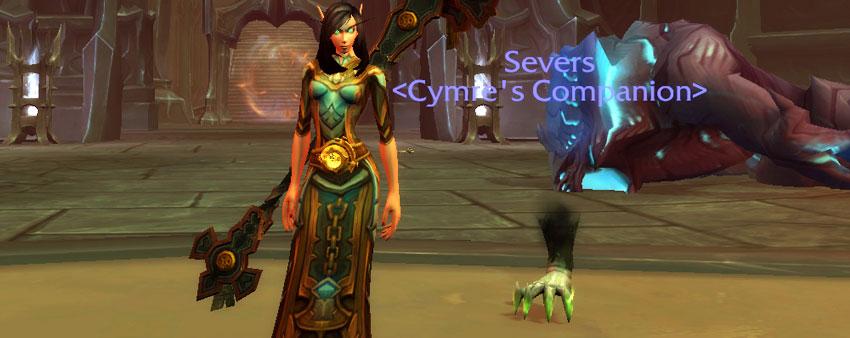 Severs battle pet