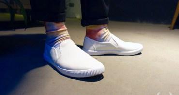 帥鞋|MUJI無印良品 SLIP ON懶人白鞋穿搭