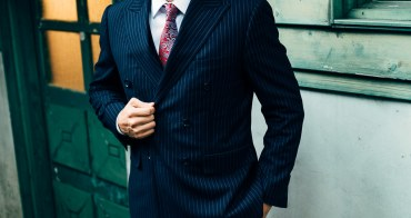 西裝 首套訂製雙排釦 權力西裝實穿心得
