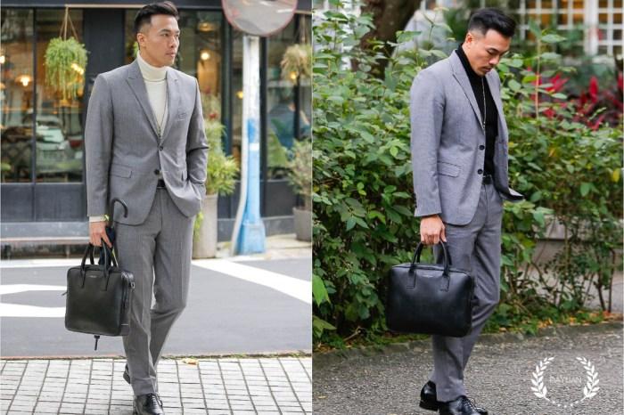 穿搭|MUJI無印良品 男生高領毛衣+西裝 簡約有型的正裝搭配單品
