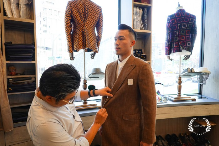 西裝 要價近5萬的Bespoke訂製西裝 高雄舒褆西服Suit Multi