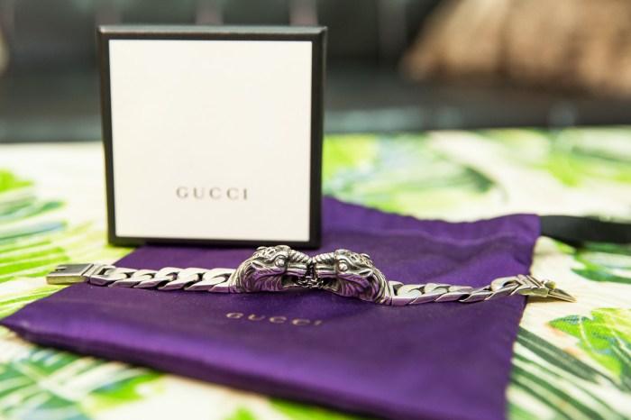 銀飾|GUCCI 虎頭銀手鍊 遲來的禮物開箱