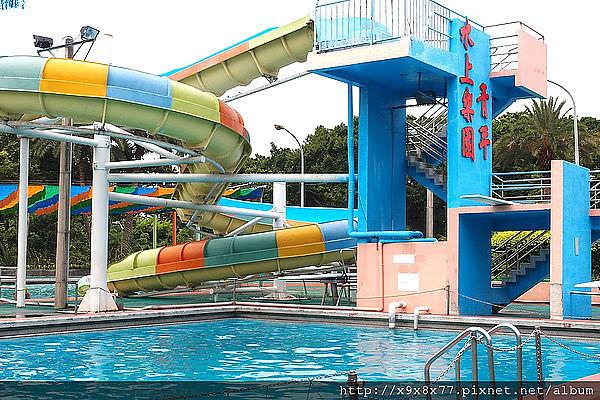 [運動] 萬華青年公園的歡樂水世界游泳池 - 大元哥