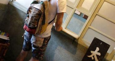包包|麻料後背包 夏天郊遊穿搭好物