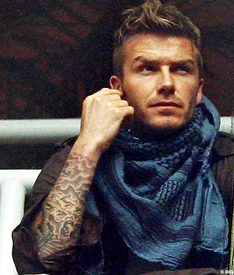 David Beckham's Tattoo's Tour