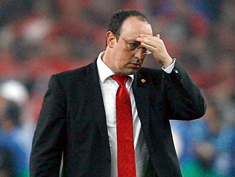 Rafa feeling the pressure?