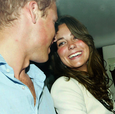 Kate with William