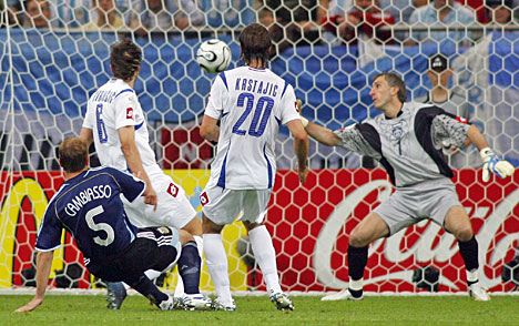 Cambiasso's goal v Serbia, WC 2006