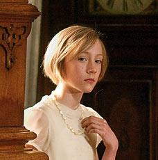 Saoirse Ronan as Briony Tallis in Joe Wright's 2007 film adaptation
