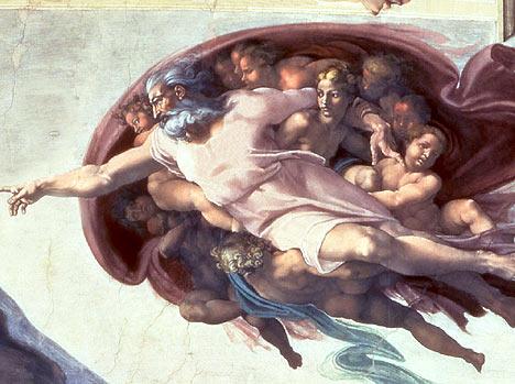 religion michealangelo