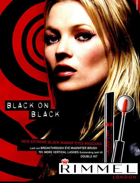 Kate Moss Rimmel mascara ad banned
