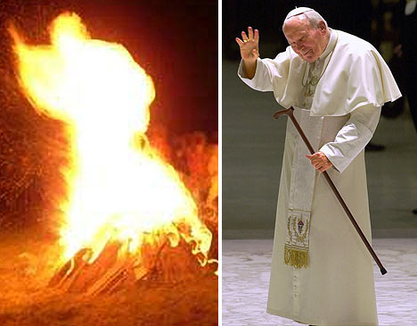 Pope / Fire