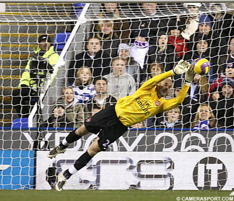 Almunia has kept the dream alive (just)
