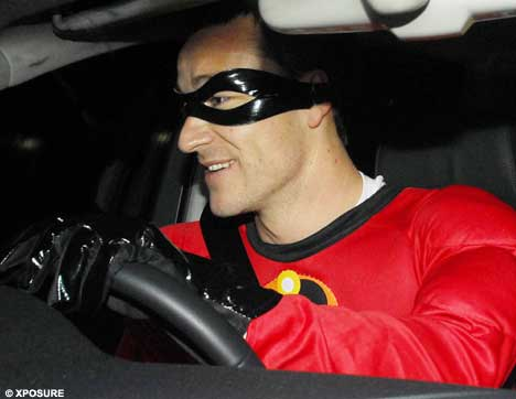 John Terry in fancy dress for an '07 party.