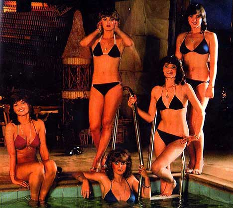 The Nolans didnt actually look like this yesterday ...