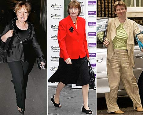 Margaret Hodge/Harriet Harman et Ruth Kelly