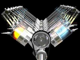 2 Cycle Engine Parts Diagram انیمیش موتور احتراق داخلی 8 سیلندر