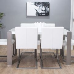 Black Dining Sets With 6 Chairs Vibrating Sex Chair Real Leather Designer   Grey, White And Uk