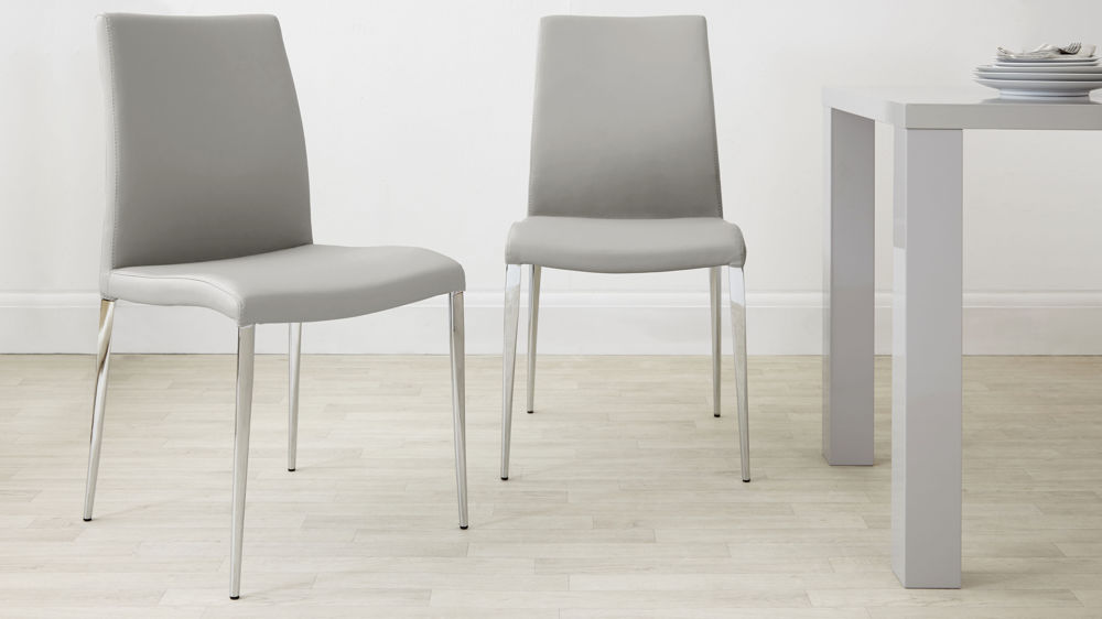 Elise Grey Dining Chairs