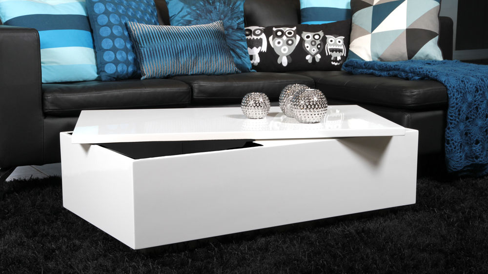rectangular modern coffee table with