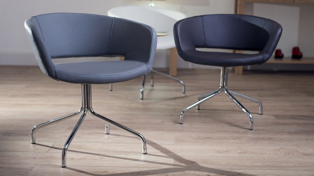 stylist chair for sale bedroom next contemporary swivel dining chairs with chrome legs
