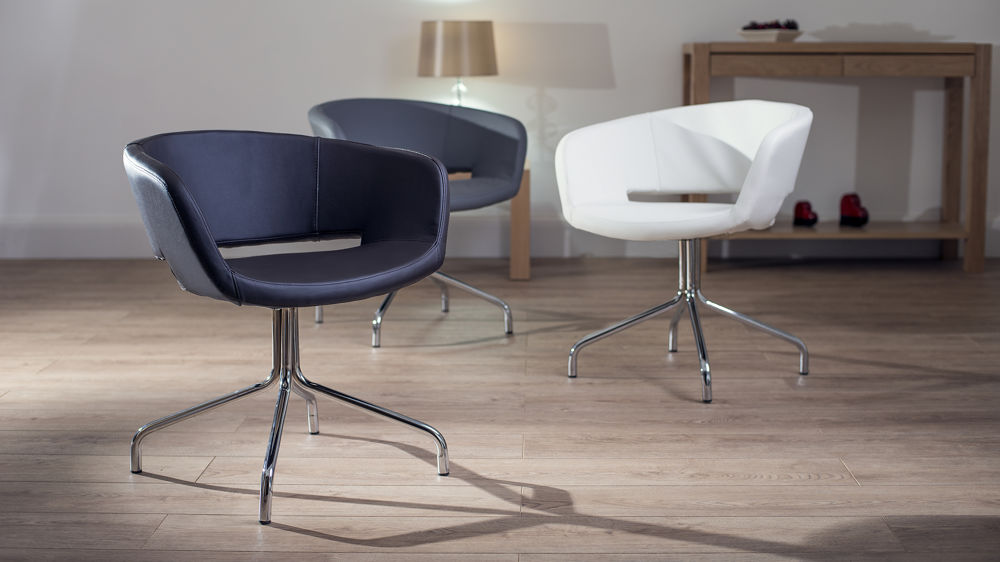 stylist chair for sale heavy duty beach modern pivoting faux leather dining chairs