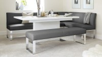 7 Seater Left Hand Corner Bench and Extending Dining Table