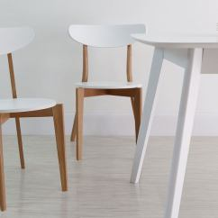 Kitchen Chairs Facelift For Cabinets White Oak Wooden Uk Danetti Modern Dining