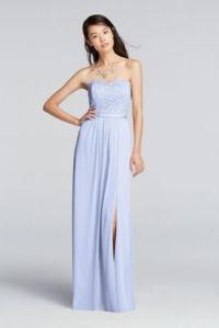 Long Bridesmaid Dresses Youll Love   Davids Bridal