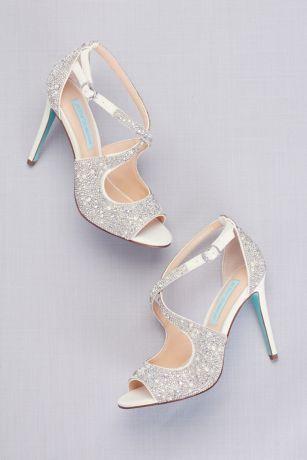 3 Inch Wedding Shoes : wedding, shoes, Wedding, Shoes, Bridal, David's