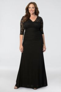 Soiree Plus Size Evening Gown | David's Bridal