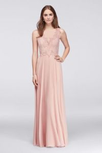 Chiffon Bridesmaid Dresses: Long & Short Lengths   David's ...