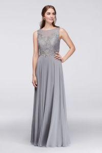 Long Coral Bridesmaid Dresses & Gowns | David's Bridal