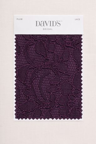 Plum Fabric Swatch  Davids Bridal