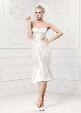 Short Corset Wedding Dresses