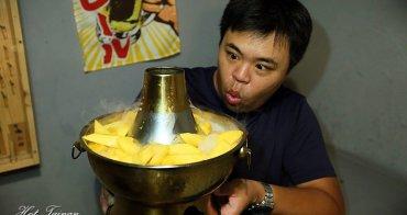 【台南美食】芒果火山冰報到!兩款芒果一次吃到,金皇尬愛文:蜂橙複合式餐飲