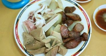 【台南美食】近60年的在地老店!台南獨有蟳丸蛋糕好好吃:清子香腸熟肉