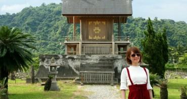 【台東景點】鹿野原來還可以這樣玩!原汁原味日本神社重現:鹿野神社