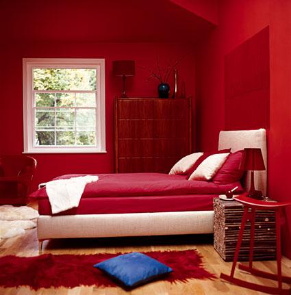 El color rojo en la decoracin  Tendencias  Decora Ilumina