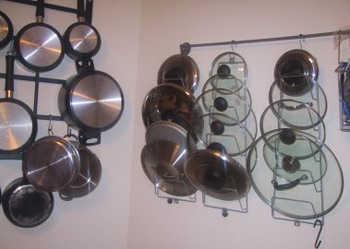 Cmo organizar ollas y sartenes en nuestra cocina  Cocina