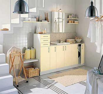 Cmo decorar la lavandera y la habitacin de planchar  Tip Del Dia  Decora Ilumina
