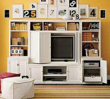 Modernos muebles para televisores  Muebles  Decora Ilumina