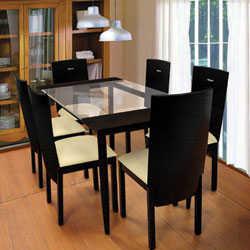 Mesas de vidrio para el comedor  Comedor  Decora Ilumina