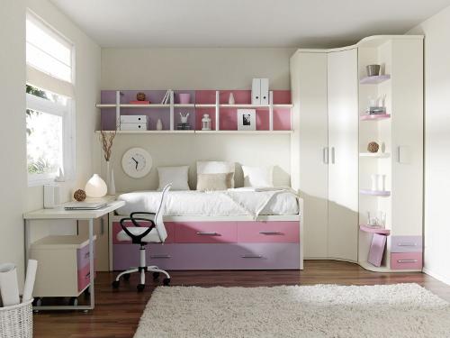 Cmo decorar una habitacin juvenil femenina  Dormitorio  Decora Ilumina