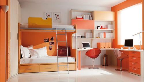 Habitaciones Juveniles  Dormitorio  Decora Ilumina