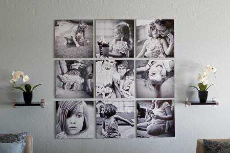 Cmo decorar mi cuarto con fotos  Paredes  Decora Ilumina