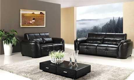 Muebles de cuero para tu sala todo sobre modelos y